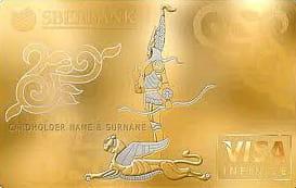 ロシアの銀行が発行したVISAカード「Visa Infinite Exclusive」