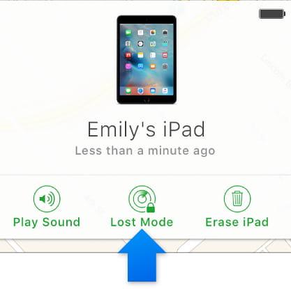 iPhoneを探す設定の説明画像