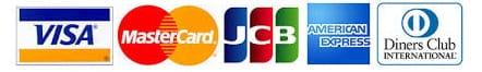 TOHOシネマズで決済できるクレジットカードブランド一覧画像