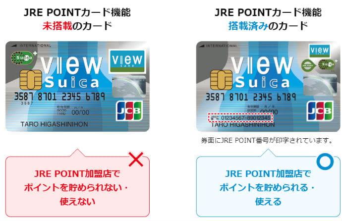 JRE POINT番号記載箇所説明画像